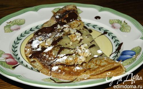 Рецепт Блины с шоколадом
