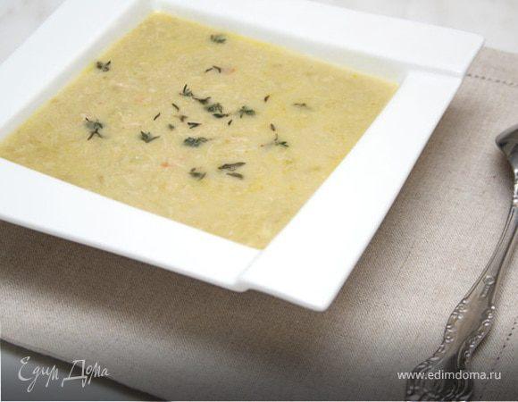 Чхртма, куриный крем-суп