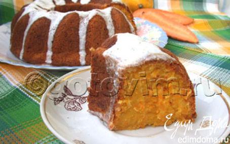 Рецепт Кекс морковный