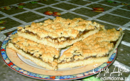 Рецепт Печенье песочное с джемом