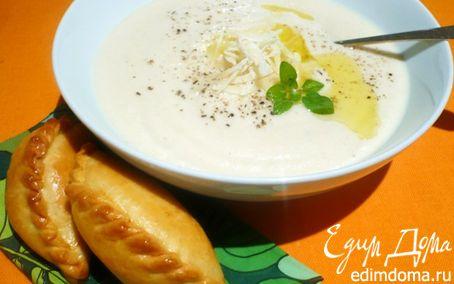 Рецепт Суп-пюре из корня сельдерея и миндаля