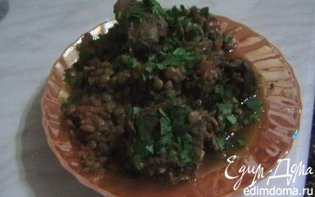 Рецепт Плов из говядины с чечевицей