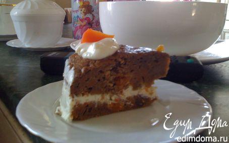 """Рецепт """"Carrot cake"""""""