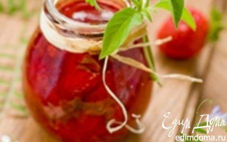 Рецепт Клубничное варенье с базиликом и мятой