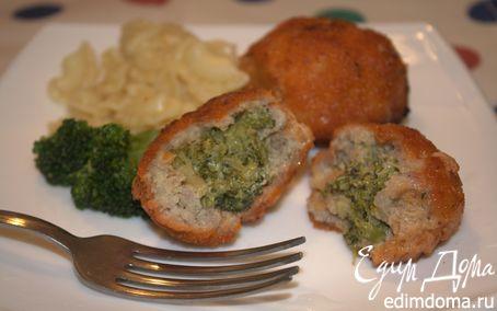 Рецепт Крокеты мясные с брокколи
