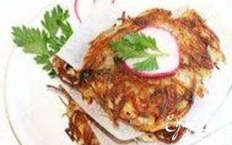Рецепт Картофельные оладушки