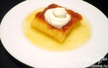 Рецепт Лимонно-лаймовый пудинг