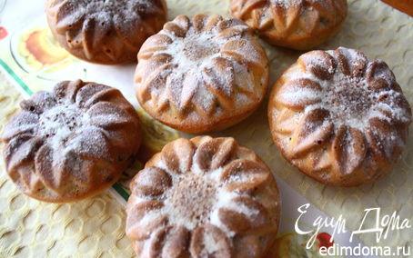 Рецепт Сметанные кексы с шоколадом