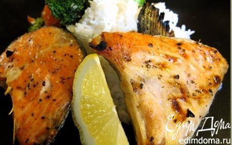 Рецепт Запеченный воротник лосося