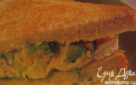 Рецепт Сэндвичи с курицей и авокадо