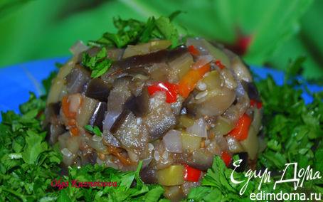 Рецепт Баклажаны с овощами