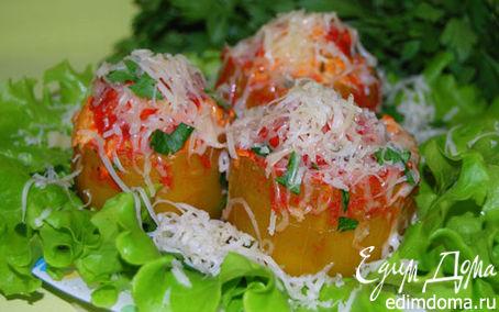 Рецепт Мясные домики из кабачков