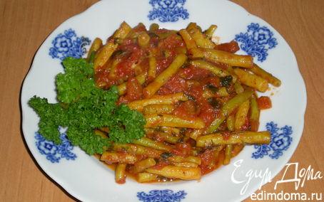 Рецепт Теплый салат из спаржевой фасоли