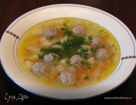 "Суп с фрикадельками ""Ням-ням"""