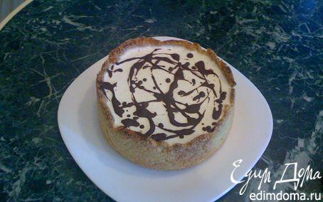 Рецепт Вишнево-сливочный торт