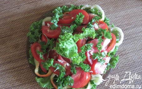 "Рецепт ""Краски лета"" овощной салат"