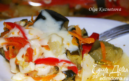 Рецепт Кабачок из духовки