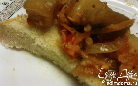 Рецепт Баклажаны закусочные с овощами