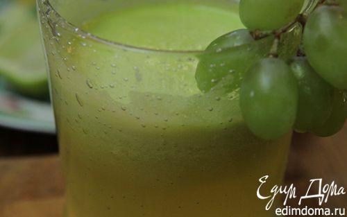 Рецепт Зеленый фруктовый коктейль