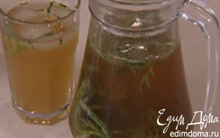 Рецепт Напиток из тархуна и лайма
