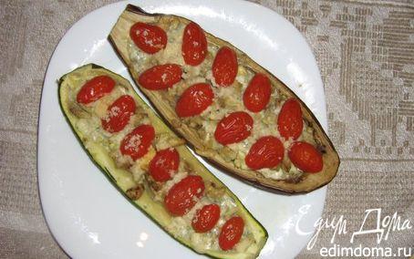 Рецепт Запечённые баклажаны и цукини