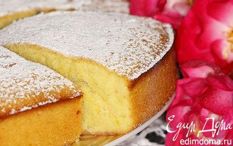 Рецепт Лимонный бисквит