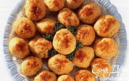 Рецепт Закуска с сыром и оливками