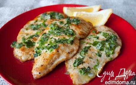Рецепт Куриные грудки с зеленью
