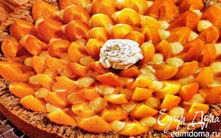 Рецепт Пирог с маком и абрикосами