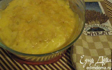 Рецепт Картофельная запеканка с сыром и чесноком