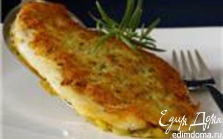 Рецепт Рыба с корочкой из картофеля и розмарина