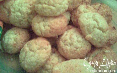 Рецепт Печенье с кокосовой стружкой