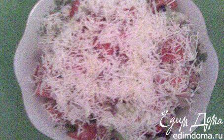 Рецепт Салат с паприкой и брынзой