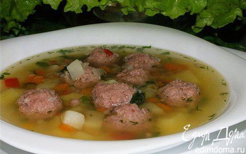 Рецепт Фрикадельковый суп