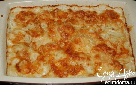 Рецепт Запеченный картофель со сливками и сыром