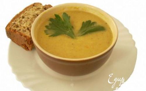 Рецепт Овощной суп-пюре (детский)