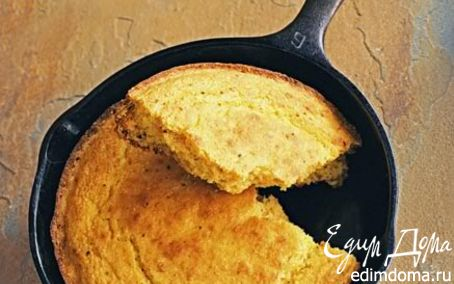 Рецепт Быстрый кукурузный хлеб
