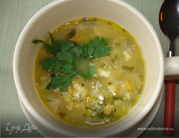 Андалузский рыбный суп