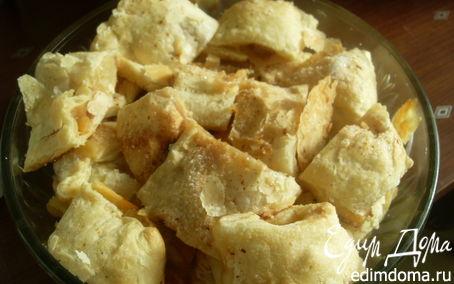 Рецепт Слоеное печенье с яблочной начинкой