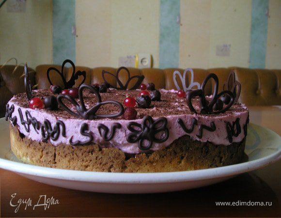Торт фруктово-шоколадный