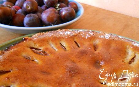 Рецепт Тирольский сливовый пирог