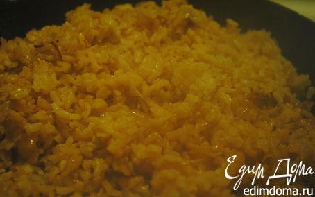 Рецепт Интересный рис на гарнир