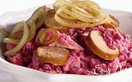 Рецепт Розовое пюре