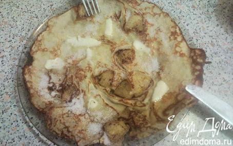 Рецепт Блинчики с ананасом