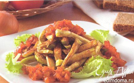 Рецепт Закуска горячая из баклажанов