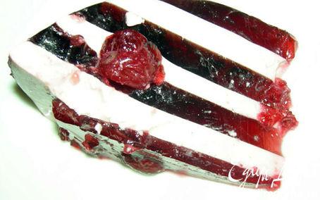 Рецепт Желейный вишневый торт