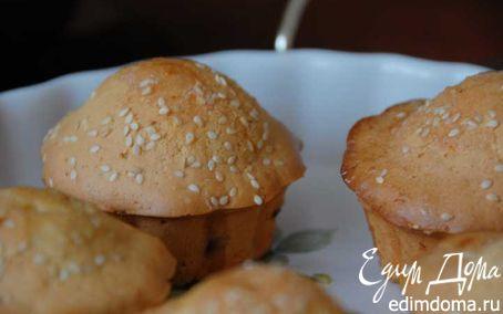 Рецепт кексы с лимонной глазурью