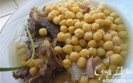 Рецепт Нут (нагут) с мясом