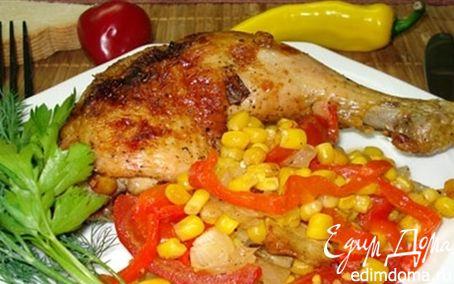 Рецепт Куриные окорочка по–мексикански