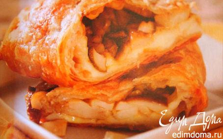 Рецепт Штрудель с лесными грибами и сыром
